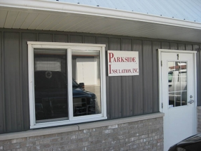 Parkside Insulation, Inc. Office and Trucks